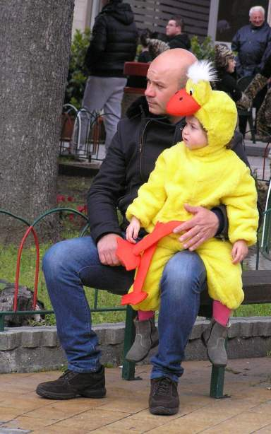 It's all about the children this Carnevale thing. ©Rochelle Del Borrello 2014