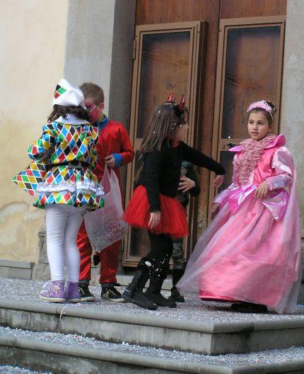 Harlequins and devils at play. ©Rochelle Del Borrello 2014