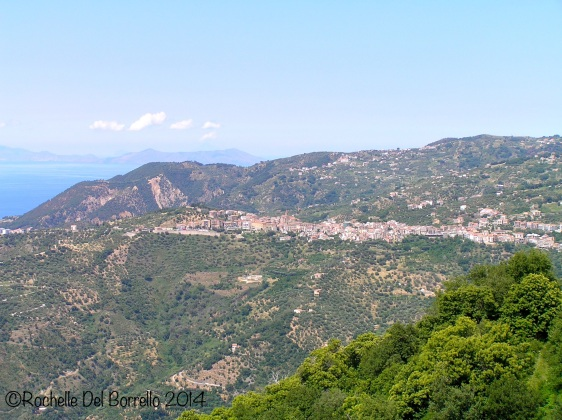 Ficarra, Messina. One of the many towns happily balancing itself on the mountains.