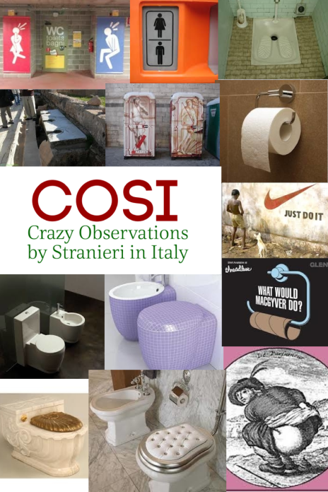 Cosi toilets in Italy post