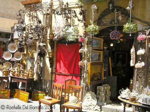 Antiques at Taormina