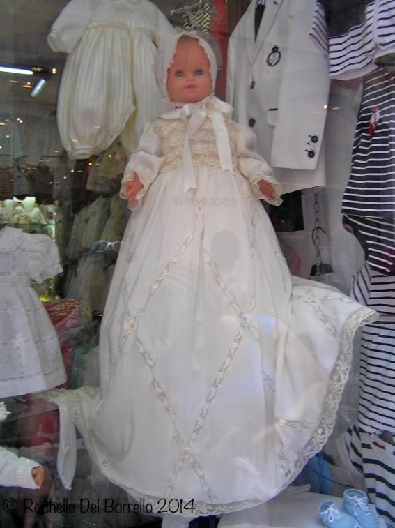 Baptism baby dress