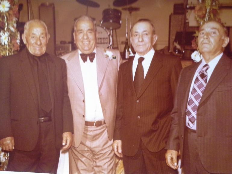 Four Del Borrello brothers