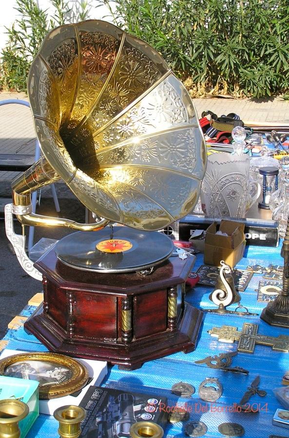 Sicilian antique gramophone