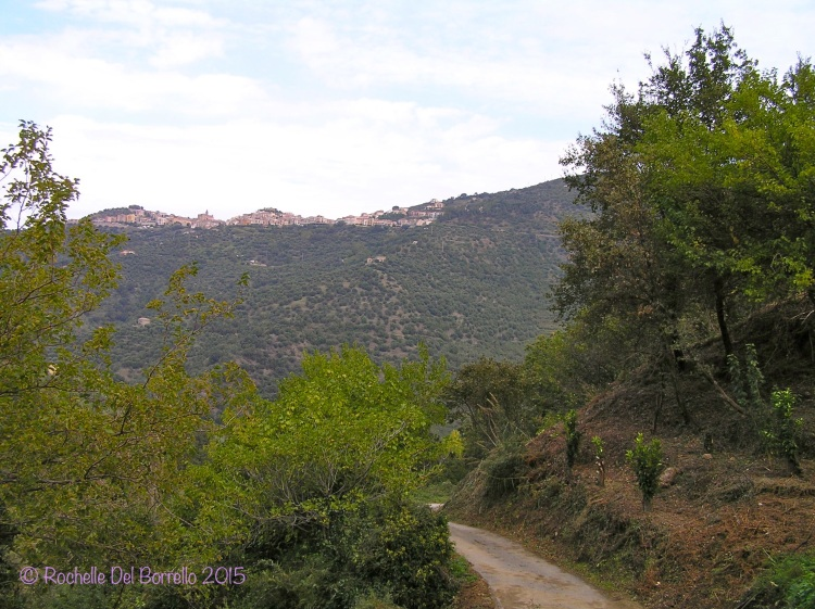 A mountain road near Ficarra