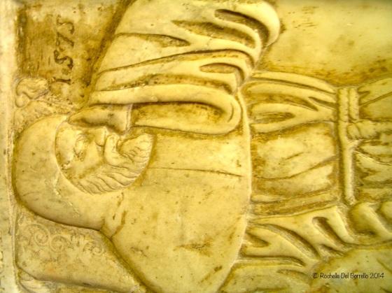 Knight's tomb, Duomo Noto Syracuse