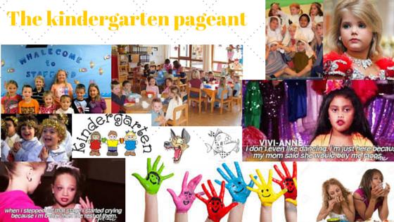 The kindergartenpageant