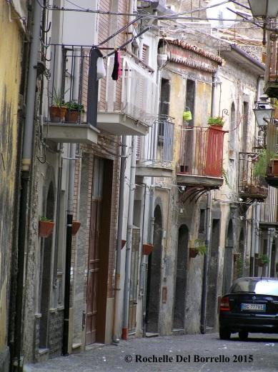 Randazzo side streets, Catania