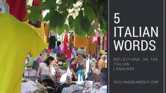 5 italian words blog image