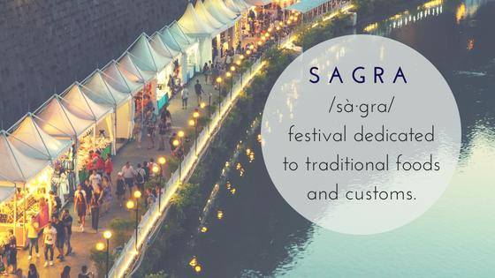 Sagra blog title